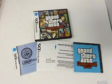 Grand Theft Auto: Chinatown Wars (Nintendo Ds) Case & Manual & Map Only! No Game