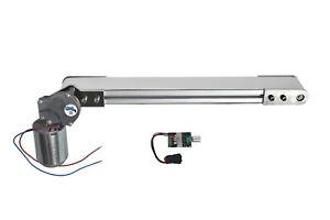 Mini-Förderband 60mm x 500mm Transportband 24V Schulprojekte