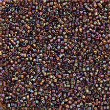 Toho Treasure Beads 11/0 Transparent Rainbow Smoky Topaz 7.8g (Q54/7)