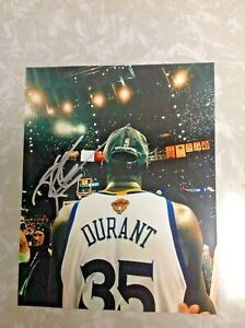 KEVIN DURANT KD GOLDEN STATE WARRIORS AUTOGRAPH SIGNED 8x10 PHOTO PROOF PIC NETS