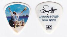 SAMMY HAGAR SIGNATURE GUITAR PICK LIVIN IT UP TOUR 2006
