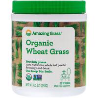 Amazing Grass Organic Wheat Grass 8 5 oz 240 g Gluten-Free, Kosher, Organic,