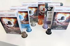 "100 Nespresso kompatibel Kaffee Kapseln ""Testbox"" vom Produzenten 5 Blends"