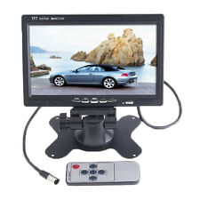 "7"" TFT LCD Color 2 Video Input Car RearView Headrest Monitor DVD VCR Monitor"