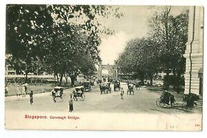 Singapore ' Cavenagh Bridge Singapore ' Postcard, lovely postcard, used but stam