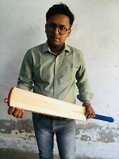 English Willow Cricket Bat Big 43 mm Edges + Free Bat Cover