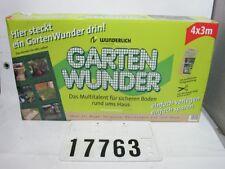 Wunderlich Gartenwunder Geogitter Kunststoff Netz Zaun 4x3m #17763