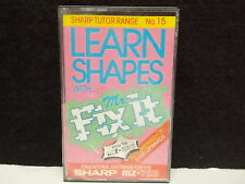 Solosoftware, Learn Shapes with Mr. Fixit, for Sharp MZ-700 & MZ-800
