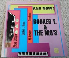 Booker T. & The Mg's And Now! Vinyl Stax 5711 Stereo VG+/EX Yellow Labels