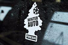 Winter Auto Fresh Sticker Decal Vinyl Car JDM Window Drift Funny Low 100mm 4''