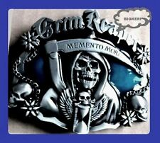 SONS OF ANARCHY   MEMENTO MORI  BIKER BELT BUCKLE   GRIM REAPER  SAMCRO ROADGEAR