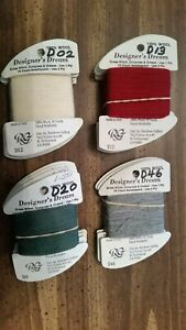 Designer's Dream  by Rainbow Gallery  100 % Wool Embroidery Thread Floss