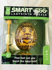 Bepuzzled Lion 2-Layer Smart Egg Labyrinth Puzzle Easter idea