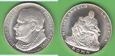 Juan pablo ii. medalla unedel aprox. 14,00 g aprox. 34 mm (12.119) stampsdealer