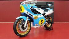 MINICHAMPS 1/12 Barry Sheene Model Moto Suzuki Xr14 GP ASSEN 1975 RARE