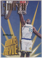 1995-96 SKYBOX PREMIUM ROOKIE PREVUE: JOE SMITH #RP1 WARRIORS RC INSERT #1 PICK
