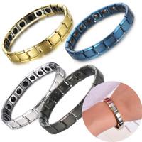 Women Men Magnetic Energy Armband Power Bracelet Health Bio GERMANIUM Magnet