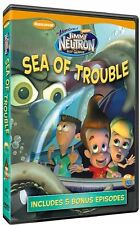 ADVENTURES OF JIMMY NEUTRON: SEA OF TROUBLE - DVD - Region 1 - Sealed
