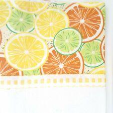 Kitchen Towels Yellow Lemonade.