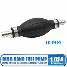 Fuel Pump Petrol Fuel Line Syphon Hand Primer Bulb All Fuels 10mm Boats Supply