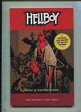 HELLBOY SEED OF DESTRUCTION TPB 3RD PRINTING! HTF!