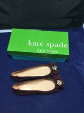 Kate Spade Shoes Size 7 1/2 M New York Ballet Flats Fontana Cherry Suede New