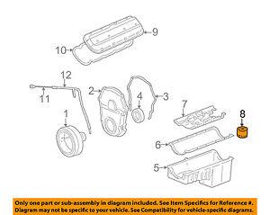 Chevrolet GM OEM 2003 Avalanche 2500 8.1L-V8-Engine Oil Filter 89028862
