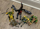 Transformers beast wars figures scorponok cheetor Rattrap Rhinox Buzzsaw - Used