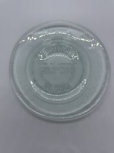 Authentic Glass San Miguel 100% Recycled Glass Bread/Salad Plates Set Of 4