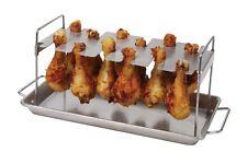 Brinkman Stainless Steel Chicken Wing & Leg Rack - New In Package