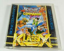 Bionic Commando ~ Capcom Commodore Amiga Spiel Boxed CIB OVP VGC sgZ Collectible