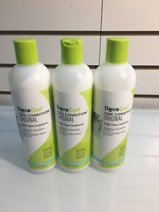 Deva Curl One Conditioner Original 12 oz Lot Of 3 Bottles New