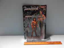 """Pandora Exclusive Gold 6.5""""in Figure w/The Spear Of Atlas & Dagger of Hope 1997"""