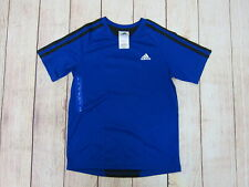 Adidas Boy's Estrada Jersey Shirt Size 7 Blue New