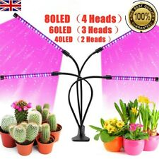 LED Grow Light Plant Growing Lamp Lights with Clip for Indoor Plants Veg Lamp UK
