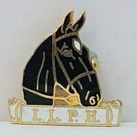 ILPH International League for the Protection of horses Badge 22mm