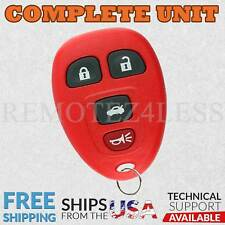 Keyless Entry Remote for 2007 2008 2009 2010 Pontiac G5 Car Key Fob Red