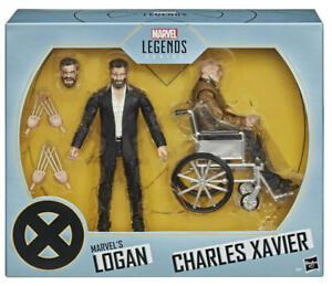 "MARVEL LEGENDS 6"" X-MEN MARVEL'S LOGAN & CHARLES XAVIER FIGURE 2-PACK SDCC  2020"