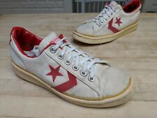 1970's Vintage CONVERSE One Star Canvas shoes MADE IN USA 8.5 AWESOME CONDITION
