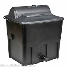 Hozelock Ecopower + 6000 UVC (12w) Fish Pond Filter Black Box Type