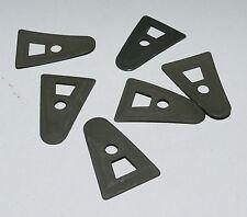 F  1 (Un) x Lot de 6 plaques A Washers verts pour liner de casque
