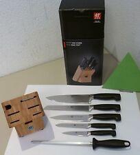 Zwilling bloque de cuchillos cuatro estrellas 7 piezas 35068-003 cuchillo para pan, cuchillos de cocina 7-tlg