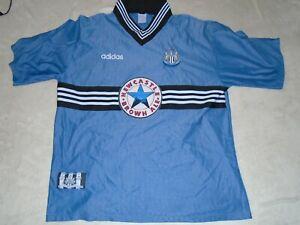 NEWCASTLE UNITED UTD FOOTBALL SHIRT AWAY VINTAGE 1996/97 SIZE XXL 2XL ADULT RARE