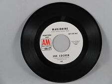 Joe Cocker - Marjorine b/w New Age of the Lily 45 white label promo