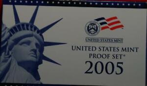 Uncirculated 2005 United States Proof Set