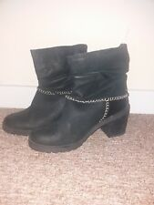 Coolway Black Ankle Boots Size 6.5  new