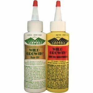 Wild Growth Light Oil Moisturiser Hair Growth Powerful Formula Regular / Light