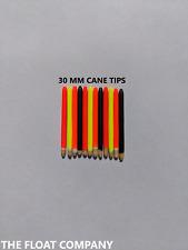 FACTORY FINISH CANE STUMPIE TIPS (30mm)