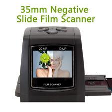 35mm Negative Film Scanner Photo Digitizer Digital Film Converter LED BackLight