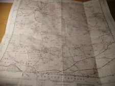 "Gloucestershire, Cotswolds: 2 1/2"" SCALA mappa: Winchcombe, Guiting, Artiglieria - 1920-1961"